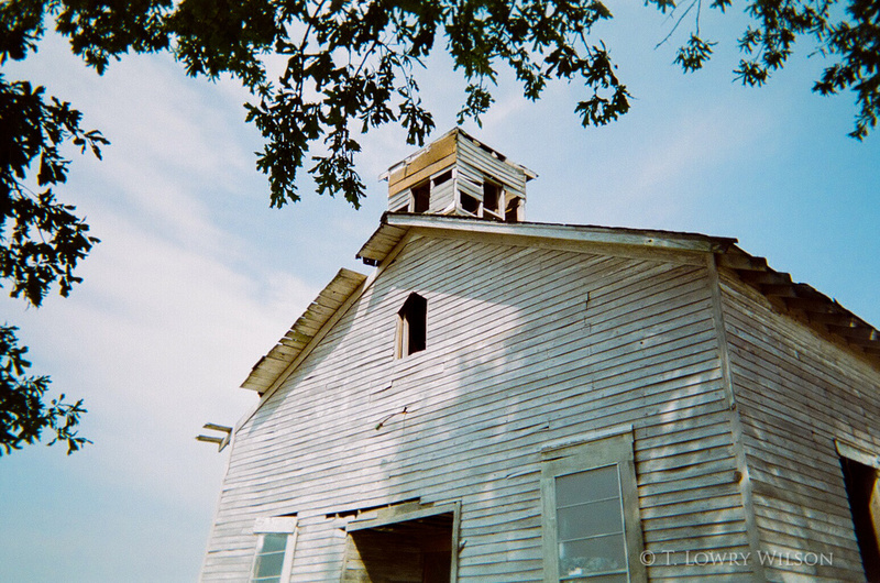 Church at Mont Helena plantation