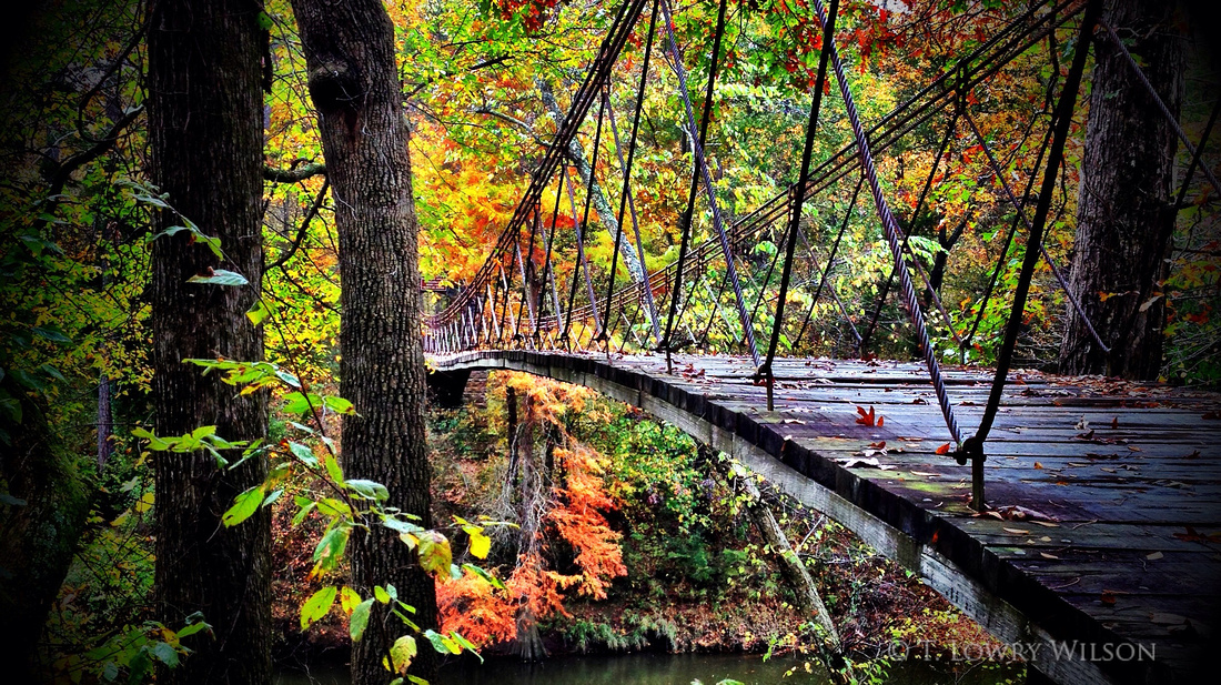 Tishomingo Swinging Bridge