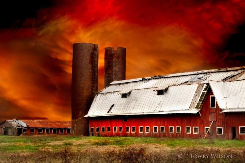 Big Red Barn, Rolling Fork, Mississippi
