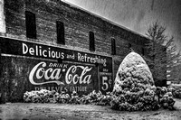 Coca Cola Sign in New Albany, MS