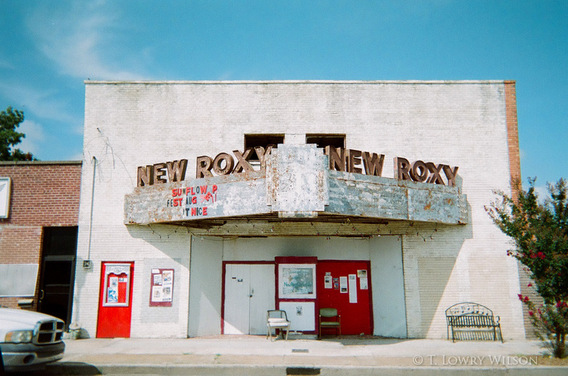 New Roxy Theater Clarksdale, Mississippi
