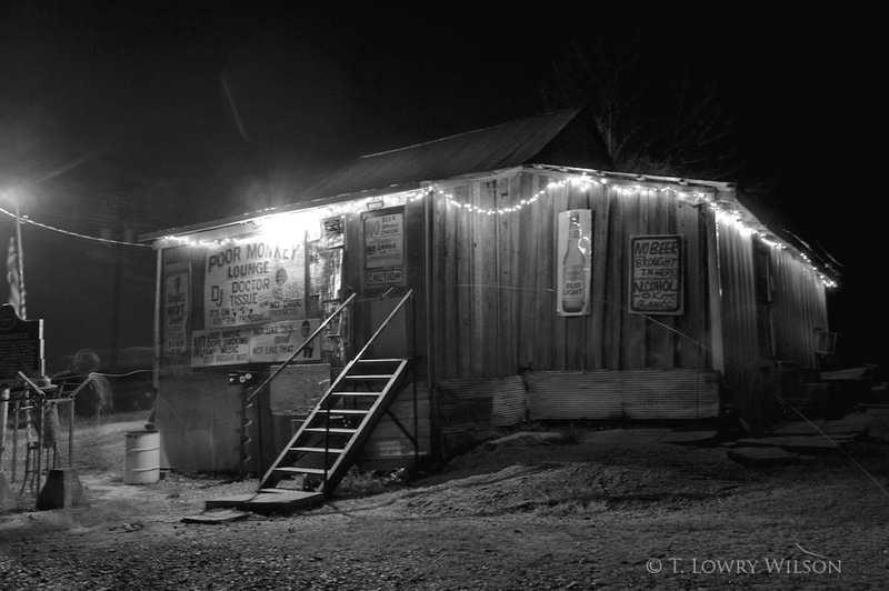 Po Monkey's Lounge in Merigold, Mississippi